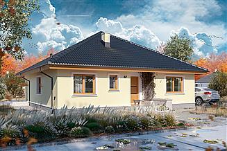 Projekt domu Serafin paliwo stałe