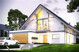 Projekt domu Otwarty 4