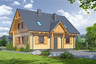 Projekt domu Hoczew średnia 11dw