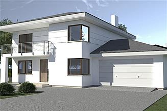 Projekt domu DN 015a