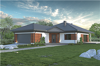 Projekt domu Dom Doskonały F