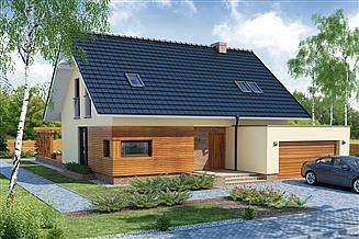 Projekt domu Bruno 2 PS