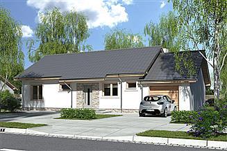 Projekt domu Nina 2 Nova C garaż