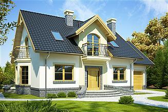 Projekt domu Ambrozja Nowa