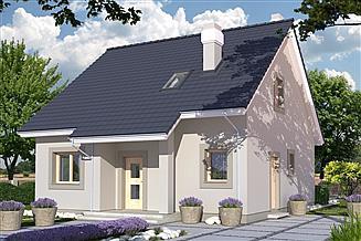 Projekt domu Dom Dla Młodych