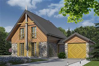 Projekt domu D74