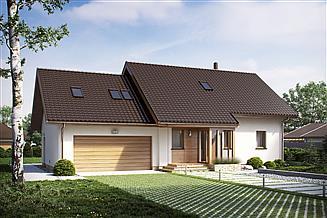 Projekt domu D186A
