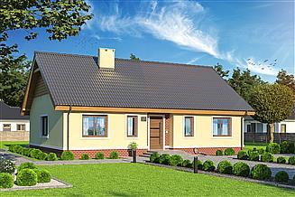 Projekt domu Talia