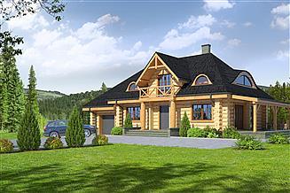 Projekt domu Chmielniki małe dw55