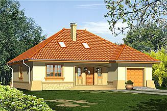 Projekt domu Retro 2P