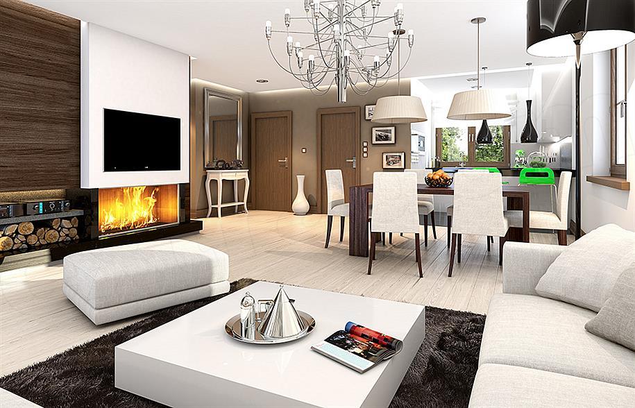 Projekt Domu Niezapominajka Z Garażem 9476 M2 Koszt Budowy 156
