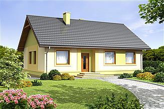 Projekt domu Pistacja