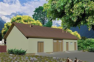 Projekt budynku gospodarczego WB-3704