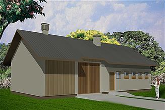Projekt budynku inwentarskiego WB-3739