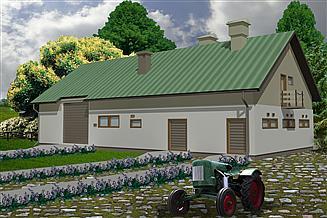 Projekt budynku inwentarskiego WB-3744