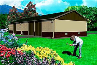 Projekt stodoły WB-3802