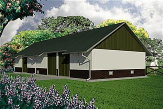 Projekt stodoły WB-3803