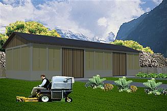 Projekt stodoły WB-3804