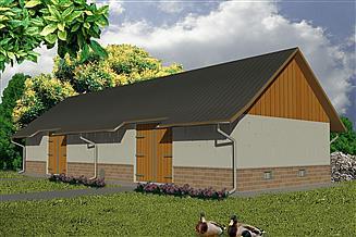 Projekt stodoły WB-3805