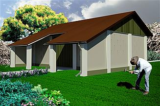 Projekt stodoły WB-3807