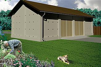 Projekt stodoły WB-3808