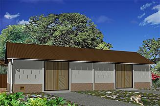 Projekt stodoły WB-3839
