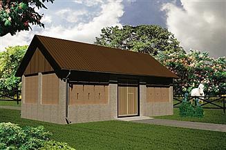 Projekt stodoły WB-3840