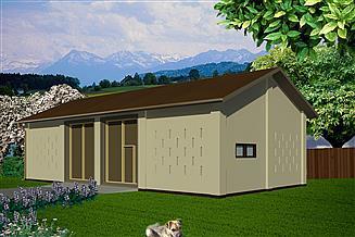 Projekt stodoły WB-3858