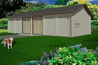 Projekt stodoły WB-3859