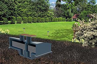 Projekt zbiornika na gnojowicę WB-3842