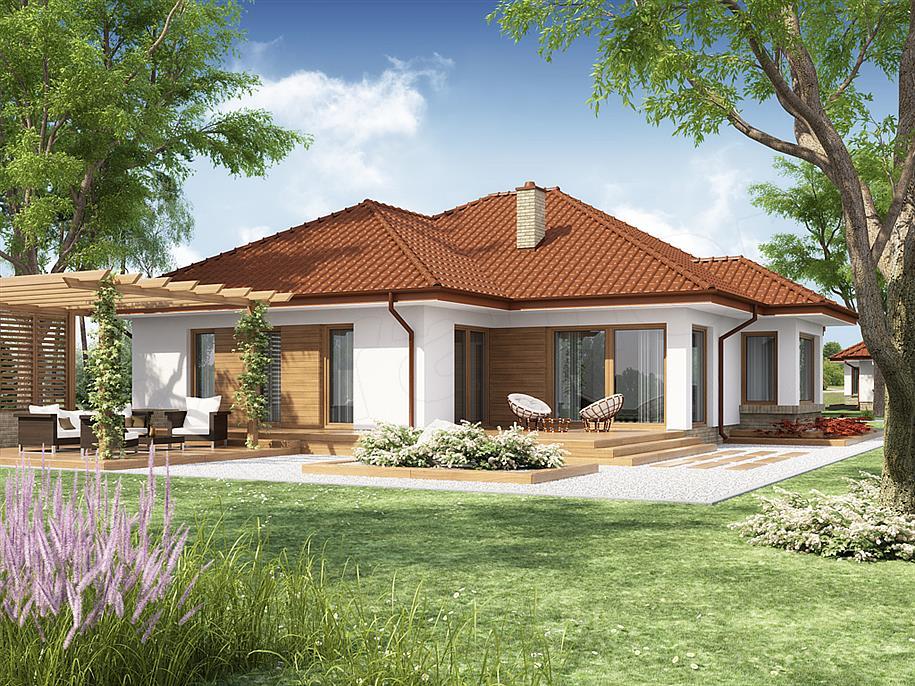 Projekt domu kasandra 2 132 49 m2 koszt budowy 228 tys for Idee per casa nuova