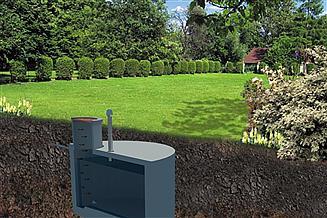 Projekt zbiornika na gnojowicę WB-6020