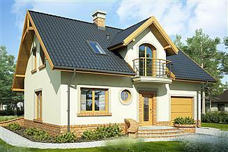 Projekt domu Dariusz Mały