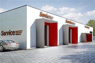 Projekt garażu G212 - Budynek garażowo-gospodarczy