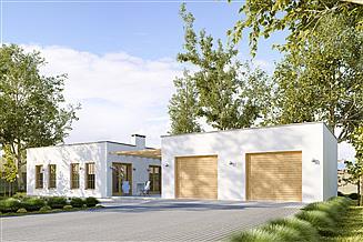Projekt sauny G191 - Budynek rekreacyjny z sauną
