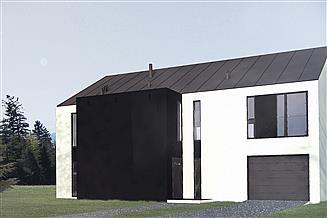 Projekt domu B-74
