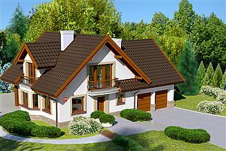 Projekt domu Dom przy Cyprysowej 15 K