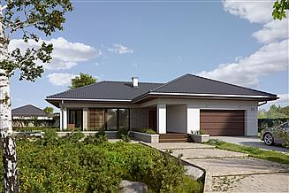 Projekt domu Aksamit 3