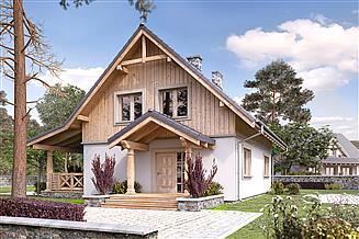 Projekt domu Truskawkowy