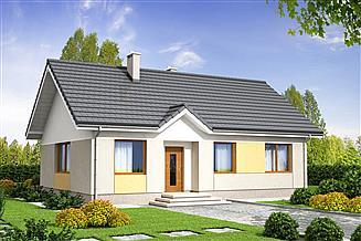 Projekt domu Sezam modern