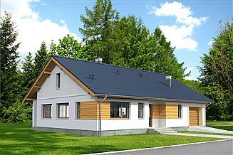Projekt domu Aosta LMB103