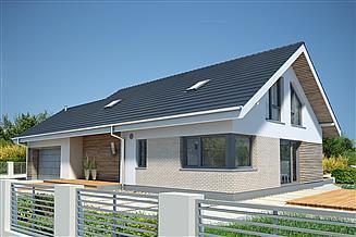Projekt domu Pireus II Pasywny 3a LDP03a