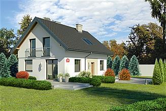 Projekt domu Dom przy Alabastrowej 28