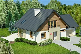 Projekt domu Dom przy Cyprysowej 32