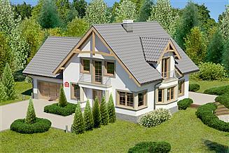 Projekt domu Dom przy Przyjaznej 11