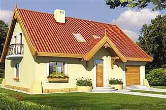 Projekt domu Tymek AP garaż
