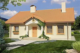 Projekt domu Sielanka A 100