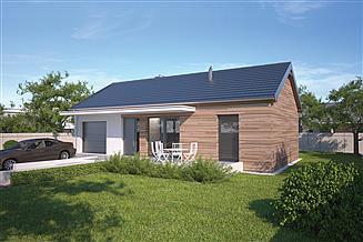 Projekt domu Murator C272c Filigranowy - wariant III