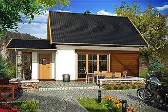 Projekt domu Jacek A