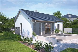 Projekt domu Murator C272d Filigranowy - wariant IV